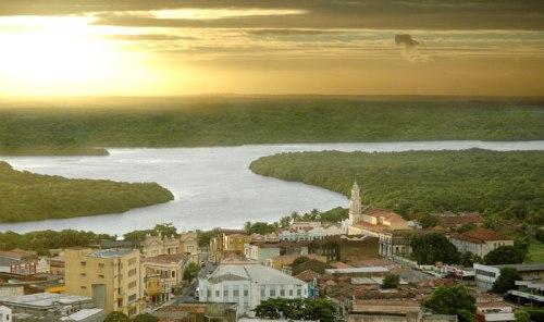 Ponto de vista turístico do Centro Histórico de João Pessoa. Foto: Secom/JP
